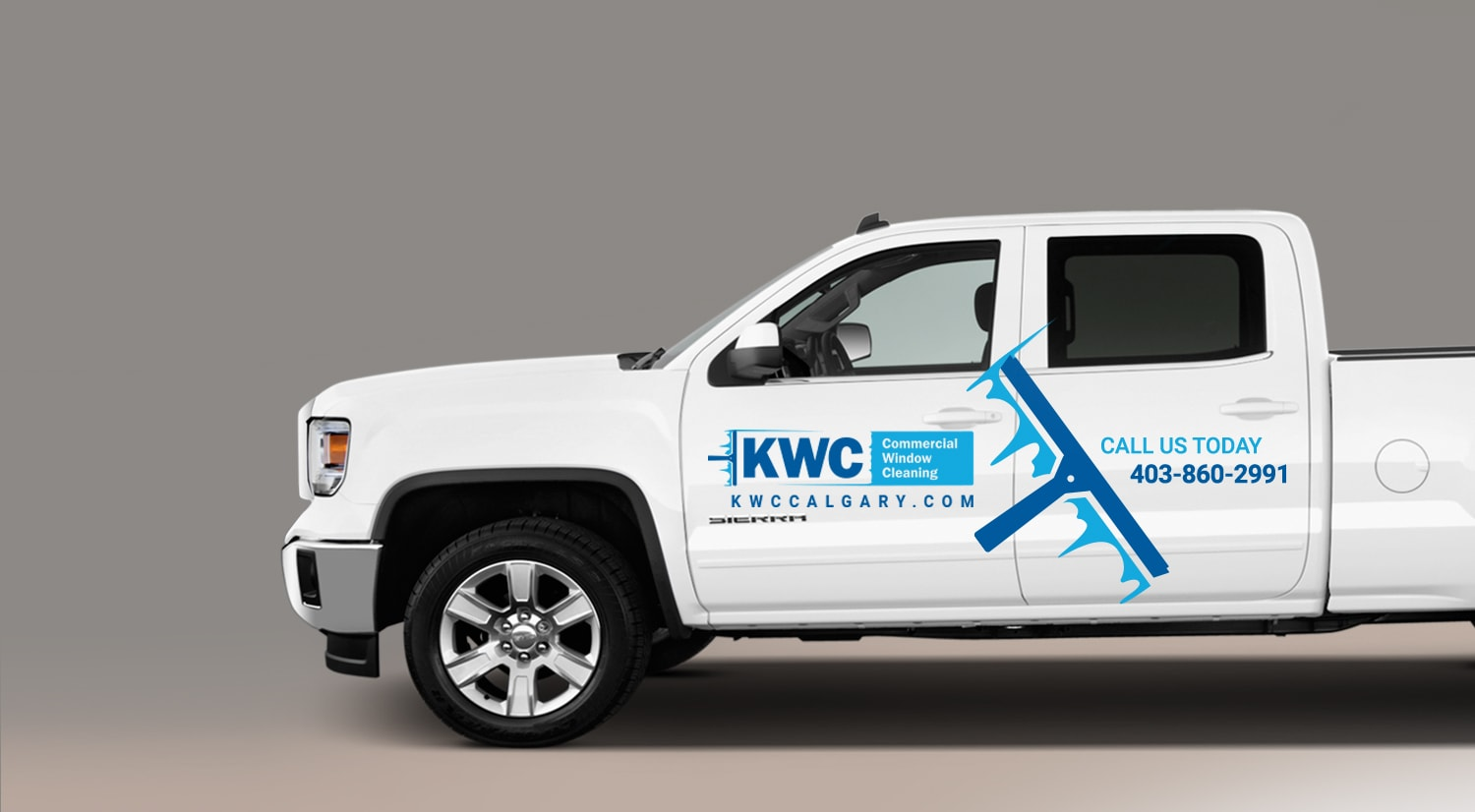 KWC Vehicle Branding