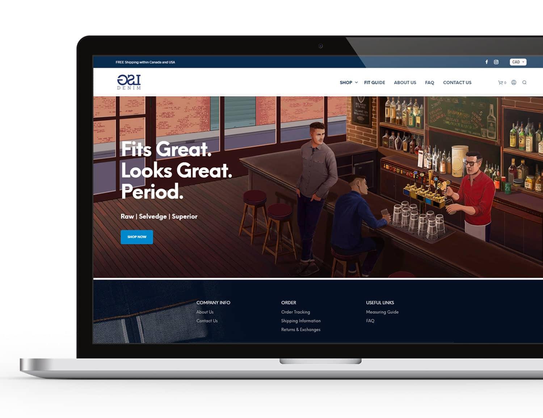 LSG Ecommerce Website Design