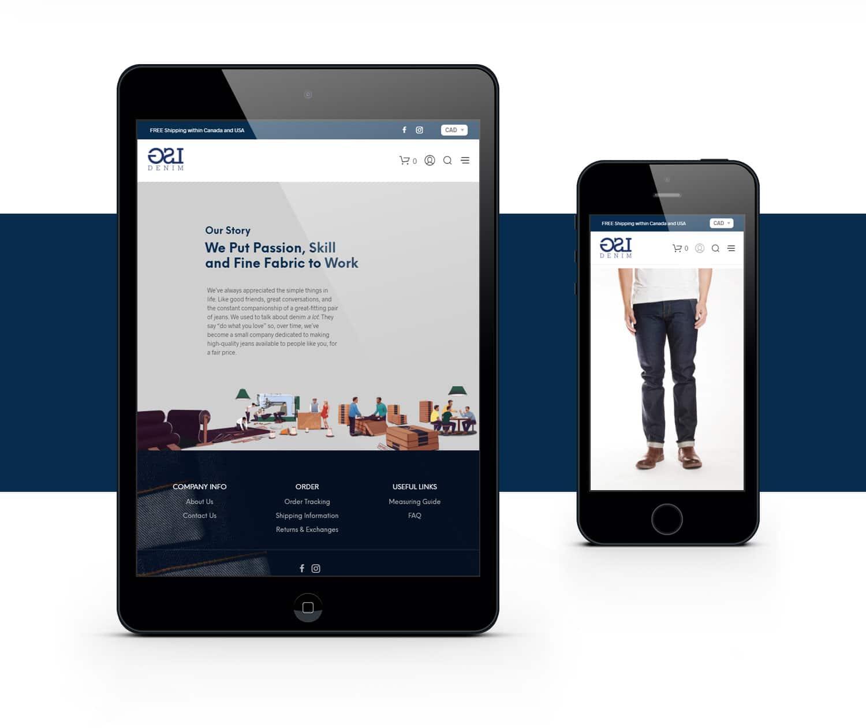 LSG Mobile Responsive Website