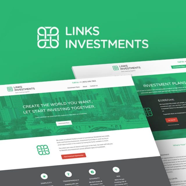 Links Investments Branding & Marketing